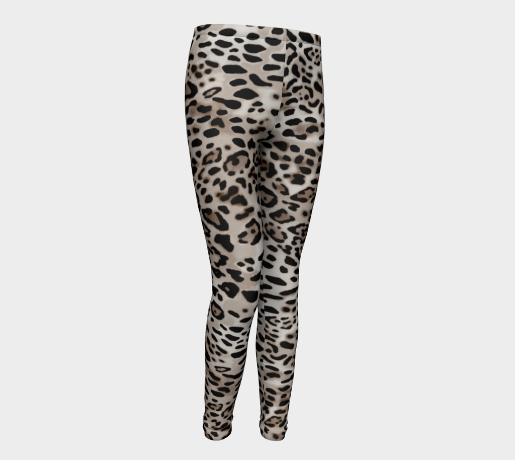 Jungle Leopard Kids Leggings