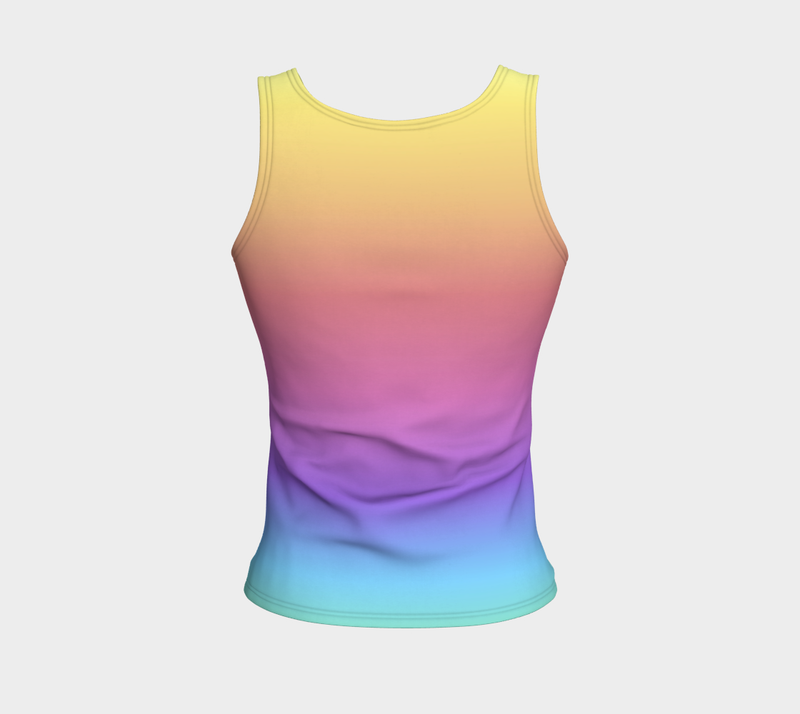 Rainbow Bright Love Yoga Top