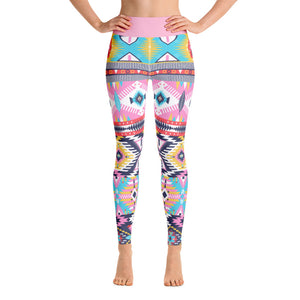 Summer Love Yoga Leggings - Aloki Athletica