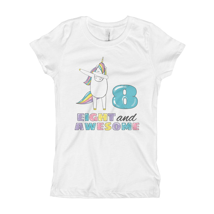 Eighth Birthday Unicorn Ma Clothing