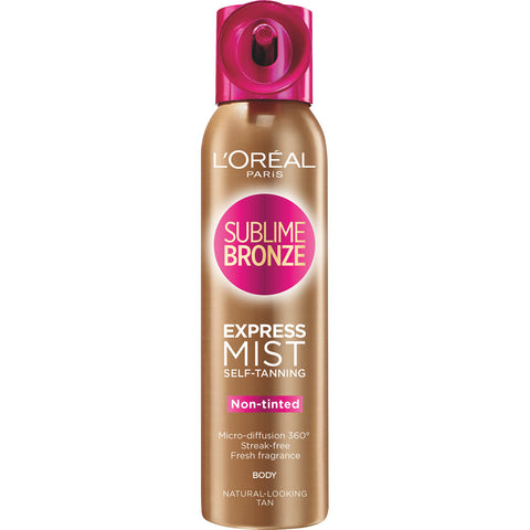 L'Oréal Paris Sublime Bronze Self-Tanning Mist