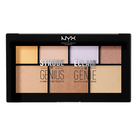 NYX PROF. MAKEUP STROBE OF GENIUS ILLUMINATING PALETTE
