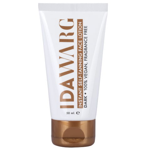 Ida Warg Instant Self-tanning Face Lotion Dark