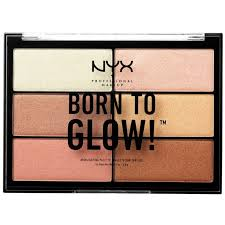 NYX Born To Glow Highligher Palette