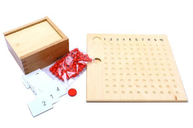 Advanced Division And Multiplication Bead Board-Genuine Wooden Toys