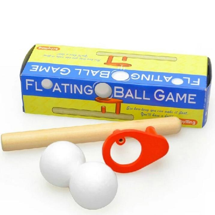 Floating Ball Woodwind Balancing Balloon Toy-Genuine Wooden Toys
