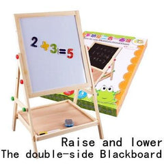 Multifunctional Double Sided Drawing Board-Genuine Wooden Toys