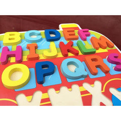 New Arrival Baby Toys Cartoon Digital/Letter Hand Grasp Plate 3D Puzzle Infant Educational Wooden Toys Child Gift-Genuine Wooden Toys