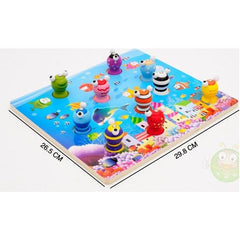 Wooden Magnetic Fishing Game Toy-Genuine Wooden Toys