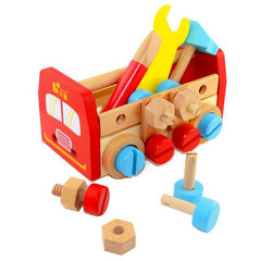 Wooden Toolbox Nut Set-Genuine Wooden Toys
