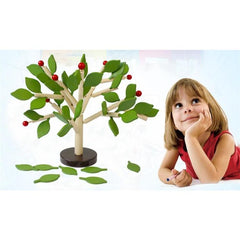 Wooden Tree Model Building Kit-Genuine Wooden Toys