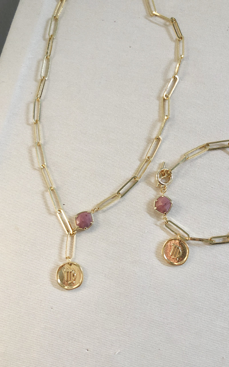 Virgo Kyklos Necklace and Bracelet