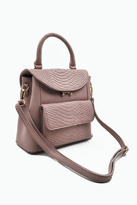 Senna Backpack in Dusty Pink