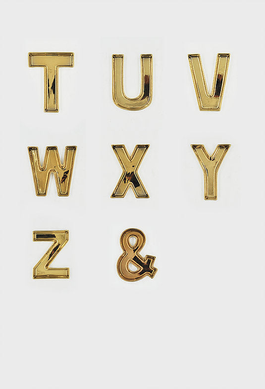 Gold Alphabet Trinket Tray