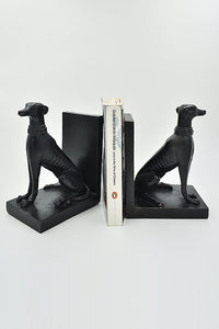 Greyhound Dog Bookends