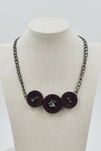 Shyann Necklace in Wine