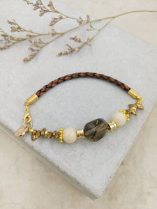 Maia Bracelet in Smoky Quartz