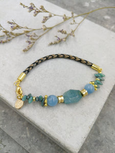 Maia Bracelet in Aquamarine