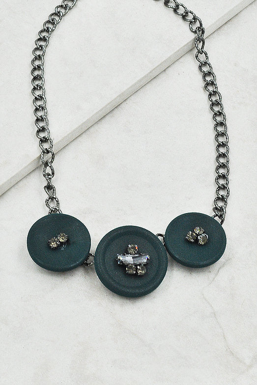 Shyann Necklace in Green