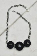 Shyann Necklace in Black