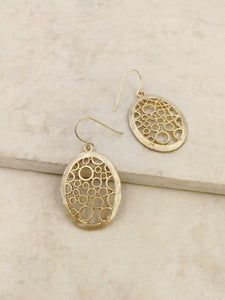 Lyslie Earring in Gold
