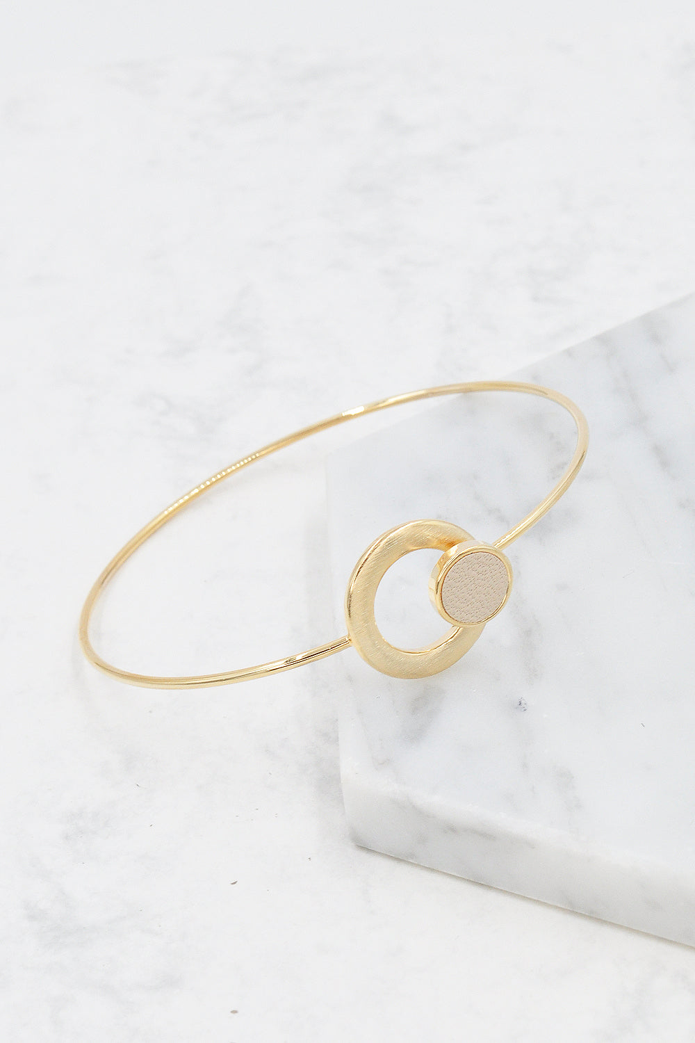 Mica Bangle in Beige