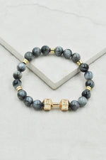 Avree Bracelet in Eagle Eye Jasper
