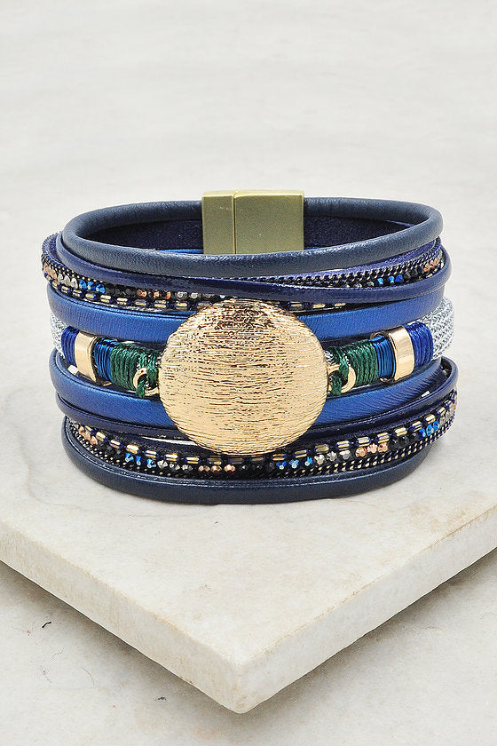 Kavi Bracelet in Blue