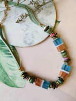 Medley Necklace in Mint