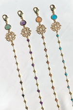 Ava Gemstone Multi-Purpose Chain