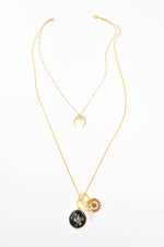 Galaxia Layered Necklace