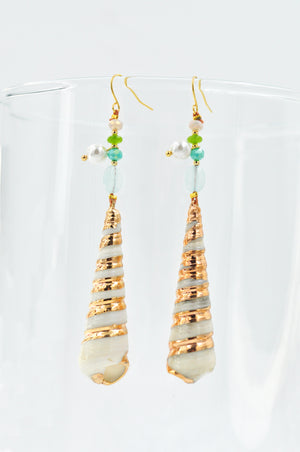 Flor Drop Earrings