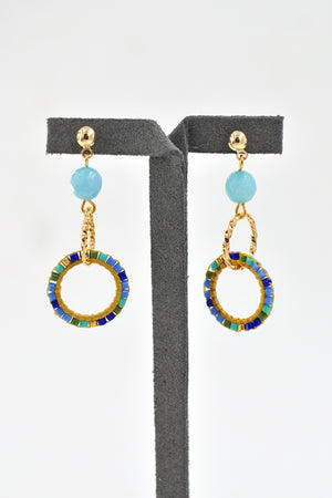 Hisa Drop Earrings