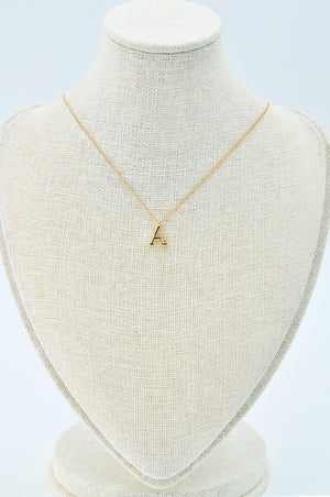 Rae Initial Necklace