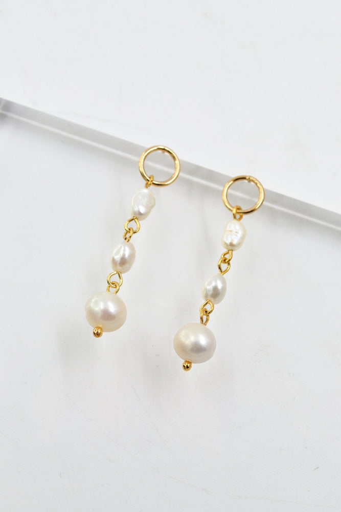 Monroe Pearl Earrings