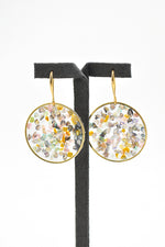 Tanvi Round Earrings