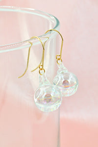 Fleur Ball Drop Earrings