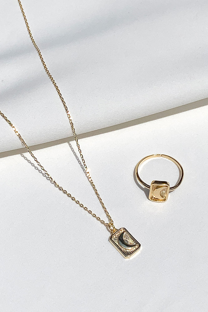 Estee Moon Necklace