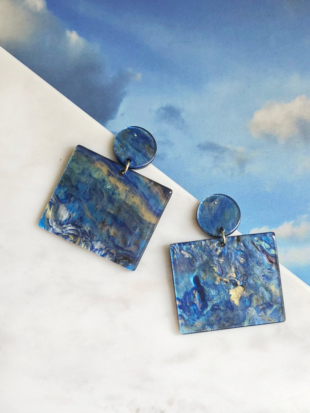 Camille Resin Earrings