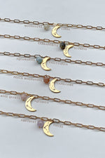 Luna Gemstone Necklace