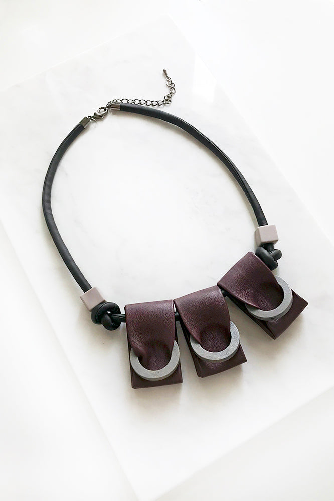 Disa Leather Necklace