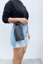 Petite Long Bucket Bag