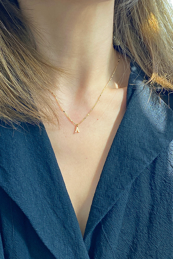 Lynn Initial Necklace