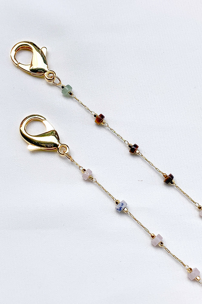 Avery Gemstone Multi-Purpose Chain