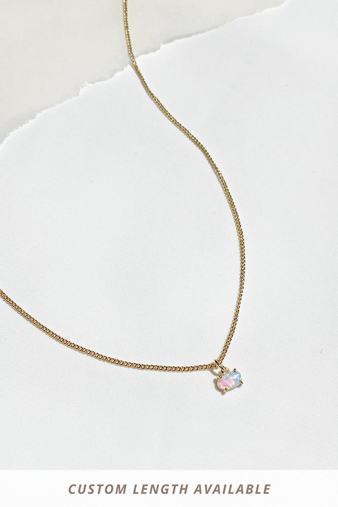 Jael Opal Necklace