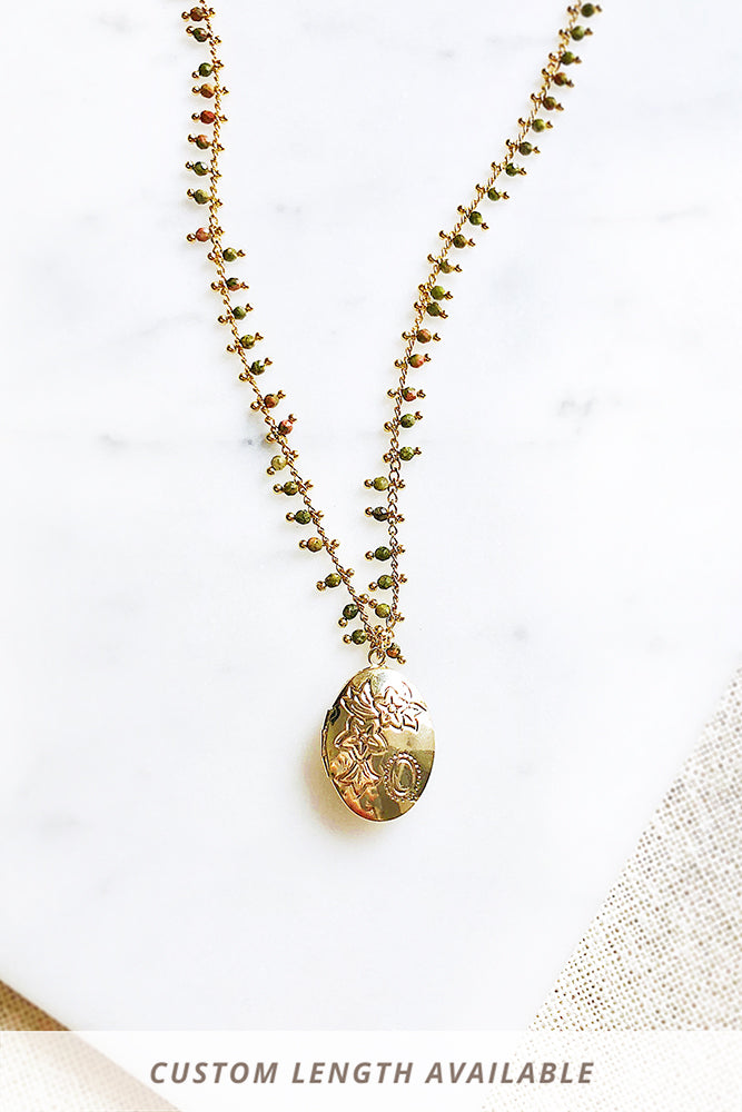 Keepsake Locket Necklace