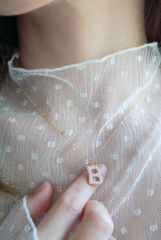 Kolbie Initial Necklace