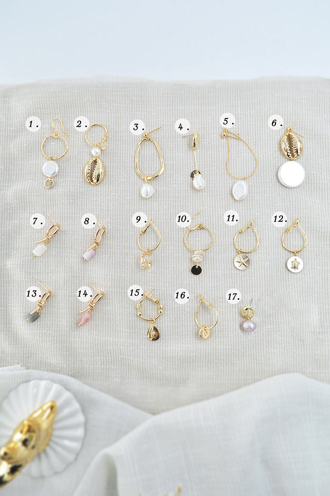 Shoreline Earrings
