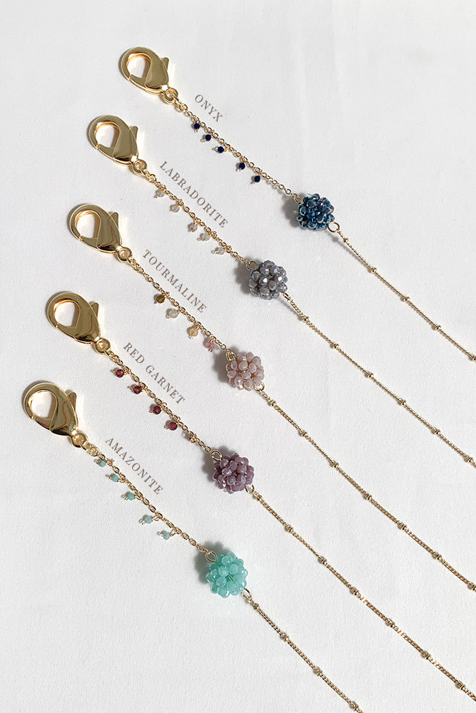 Pom Pom Gemstone Multi-Purpose Chain