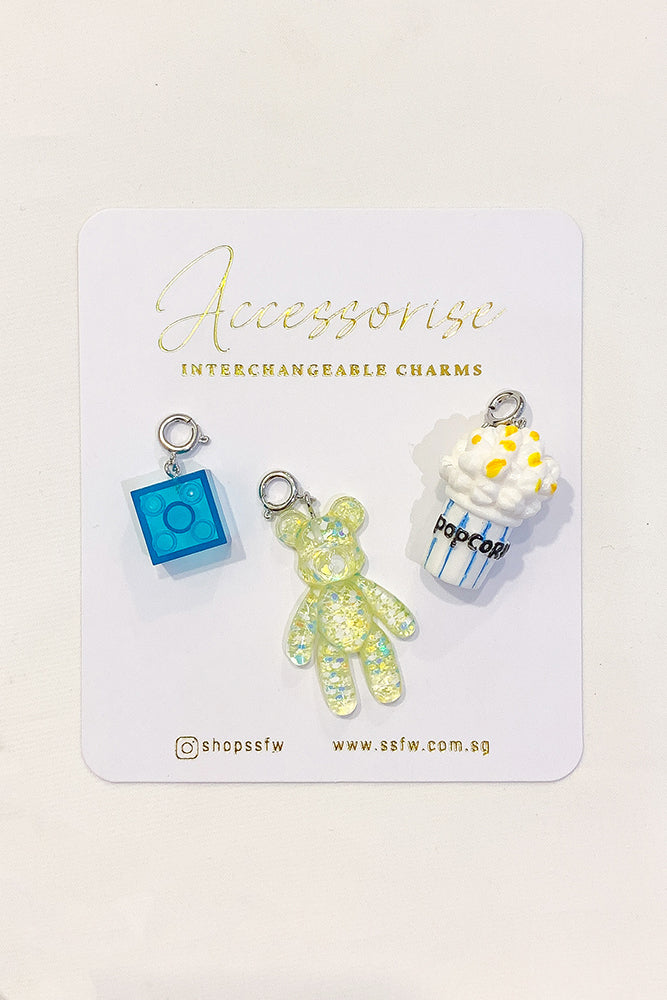 Interchangeable Charms - Bear Set